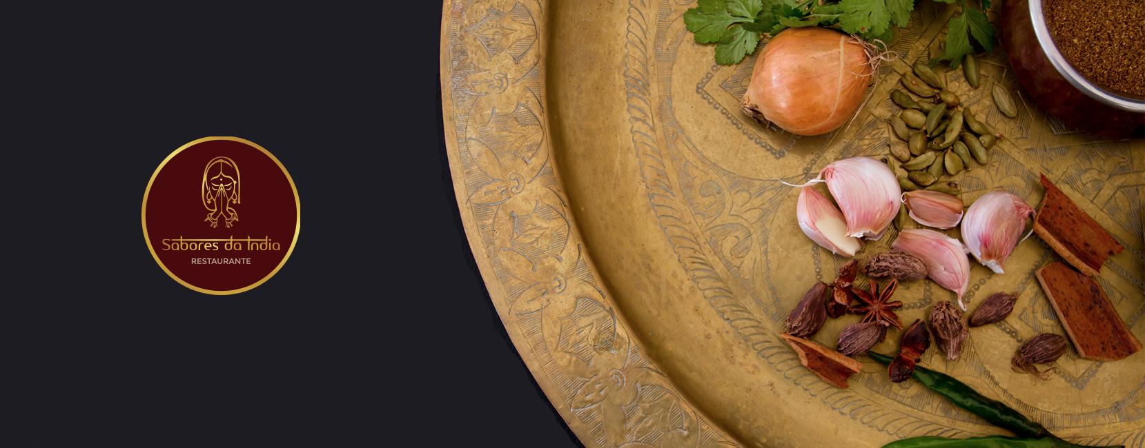 Branding | Restaurante Sabores da Índia