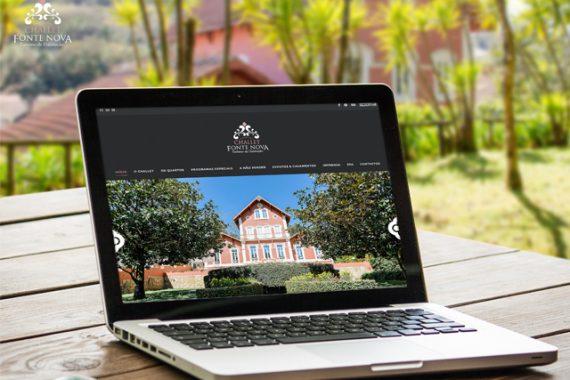 Website Challet Fonte Nova