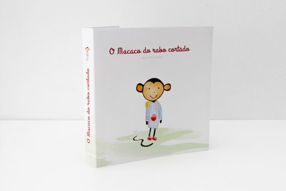 "Livro Pop Up ""O Macaco do Rabo Cortado"""