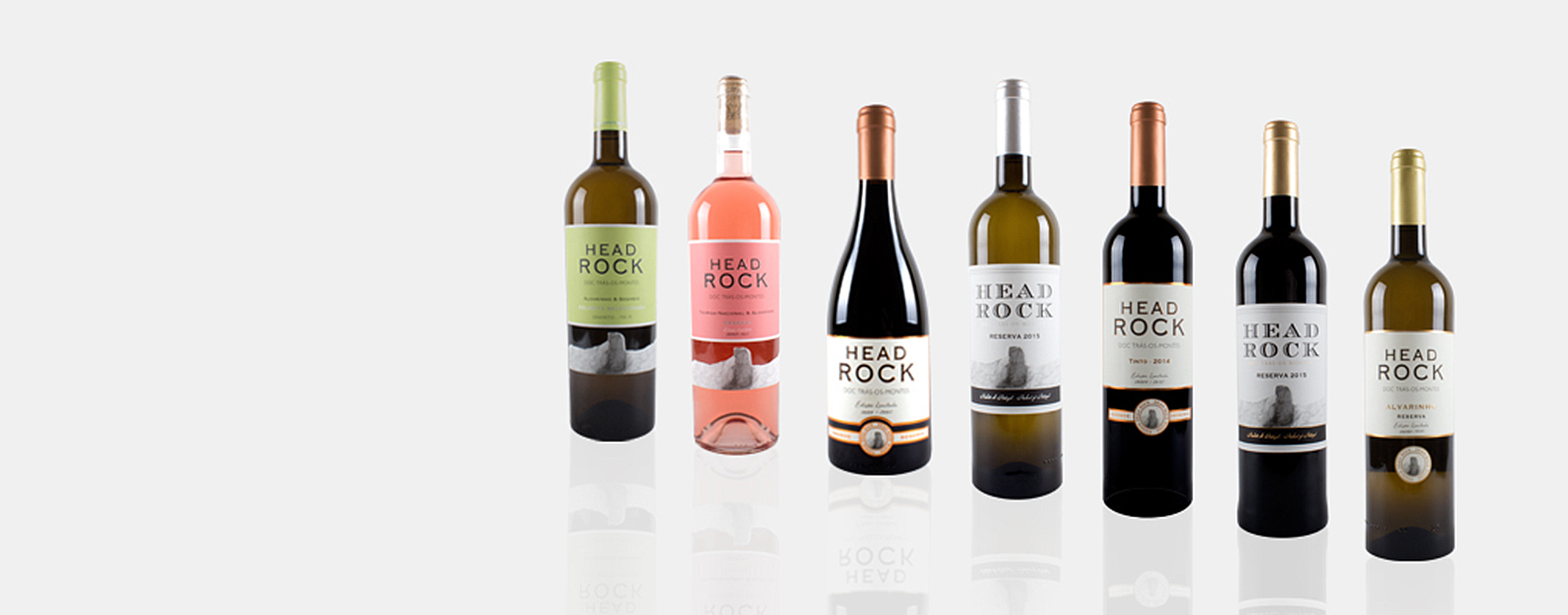 Fotografia de Produto Head Rock Wines