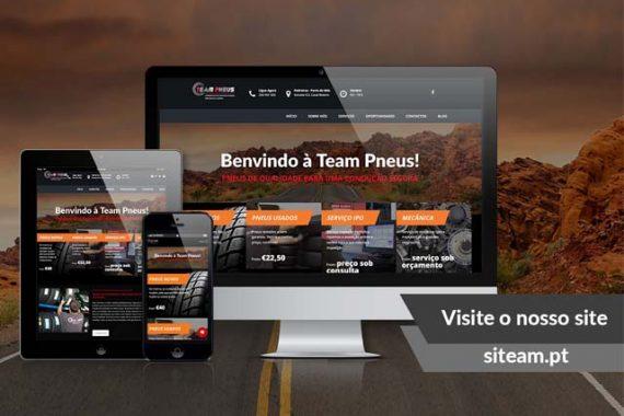 Branding | Team Pneus